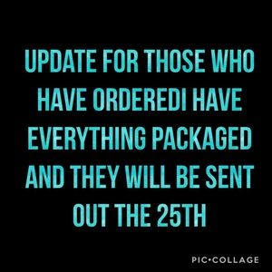 Other - UPDATE SHIPPING